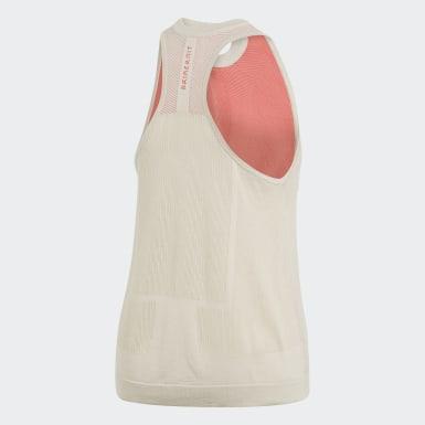 Women Athletics White adidas Z.N.E. Primeknit Tank Top