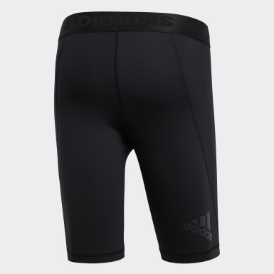 Men HIIT Black Alphaskin Sport Short Tights