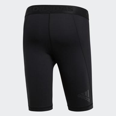 Calzas Cortas Alphaskin Sport - Tiro Bajo Negro Hombre Yoga