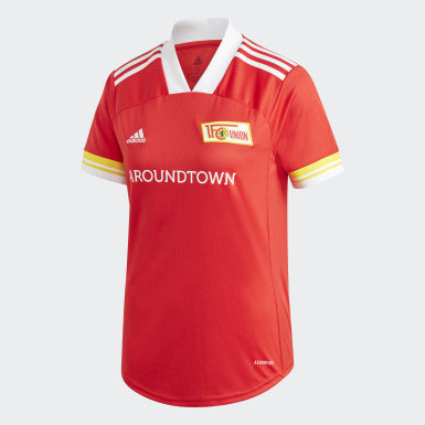 Women Football Red 1. FC Union Berlin 20/21 Home Jersey