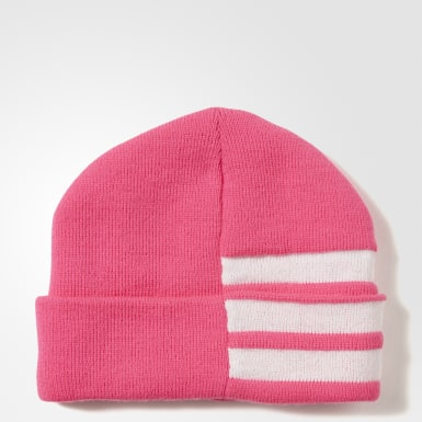 розовый Шапка-бини 3-Stripes Logo