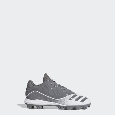 Children Baseball Grey Icon V Mid Cleats
