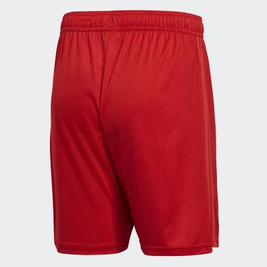 Men Football Red Real Madrid Third Shorts