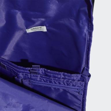 Mochila Premium Essentials Roll-Top (UNISEX) Azul Originals