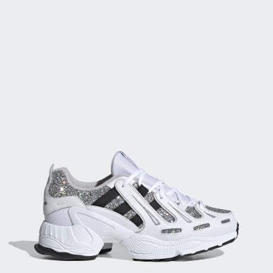 Women Originals White EQT Gazelle Shoes