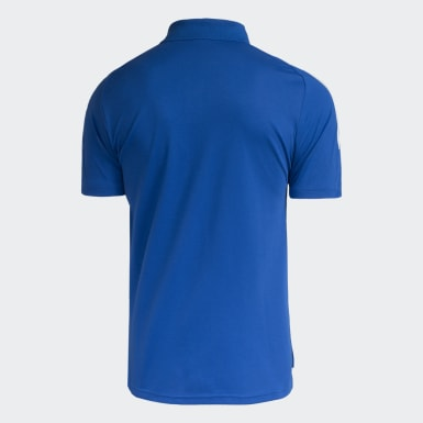 POLO VIAGEM CRUZEIRO ATLETA Azul Homem Futebol