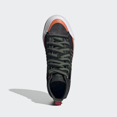 ผู้ชาย Originals สีดำ รองเท้า Nizza Hi DL