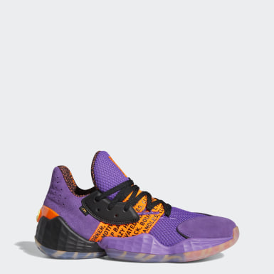 Men Basketball Purple Harden Vol. 4 McDonald's Shoes