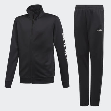 Children Training Black Track Suit