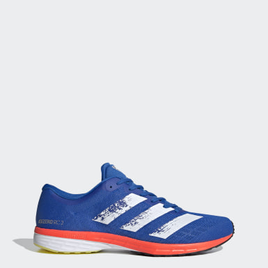 Running Blue Adizero RC 2.0 Shoes
