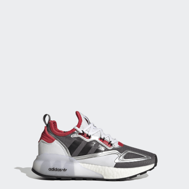 Youth Originals Grey ZX 2K Boost Shoes