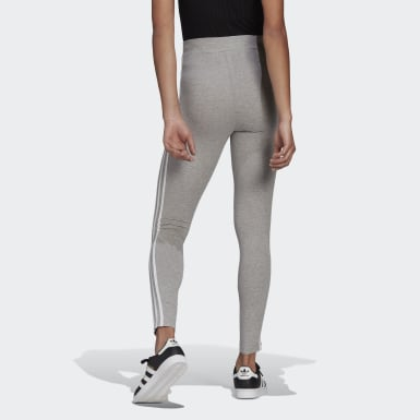 Tight Adicolor Classics 3-Stripes gris Femmes Originals
