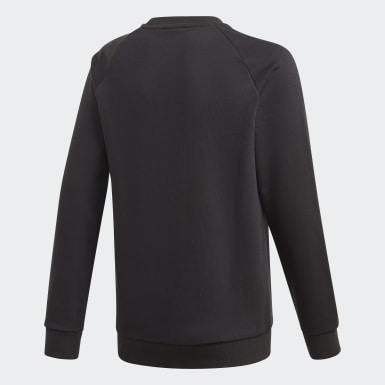 Kinder Originals Adicolor Sweatshirt Schwarz