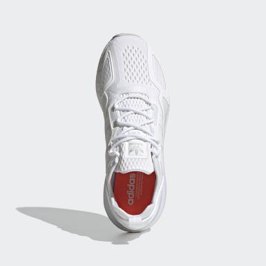 Sapatos ZX 2K Boost Branco Originals