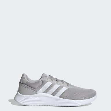 Men Running Grey Lite Racer 2.0 Shoes