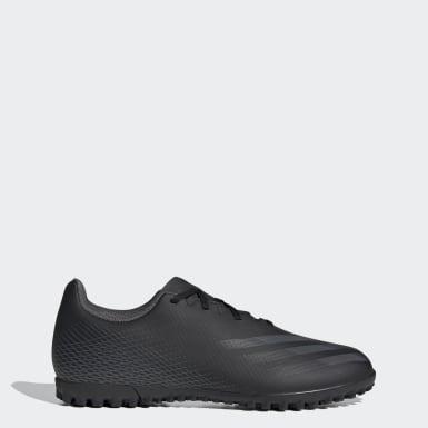 ผู้ชาย ฟุตบอล สีดำ รองเท้าฟุตบอล X Ghosted.4 Turf
