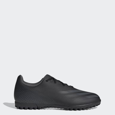 Men Soccer Black X Ghosted.4 Turf Shoes