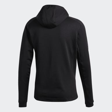 Muži TERREX čierna Bunda Terrex Stockhorn Hooded Fleece