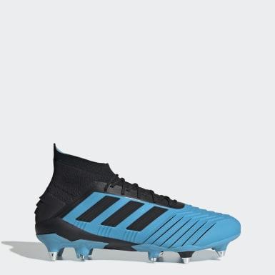 Zapatillas de Fútbol Predator 19.1 Terreno Suave Turquesa Hombre Fútbol