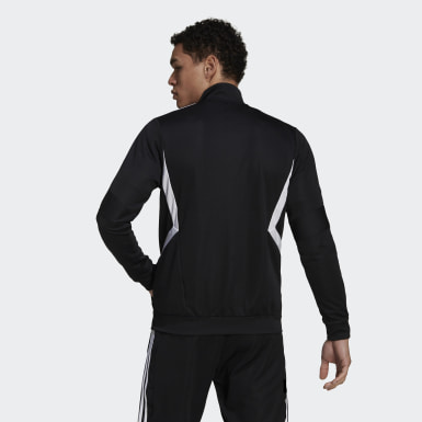 Men's Soccer Black Tiro Track Jacket