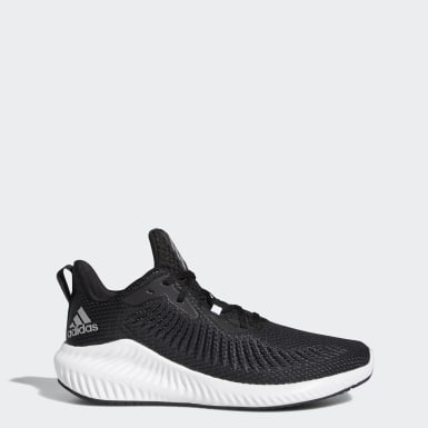 Men Running Black Alphabounce+ Shoes