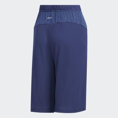 เด็กผู้ชาย เทรนนิง สีน้ำเงิน กางเกงขาสั้น Game