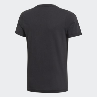 Boys Training Black London Small Badge of Sport T-Shirt