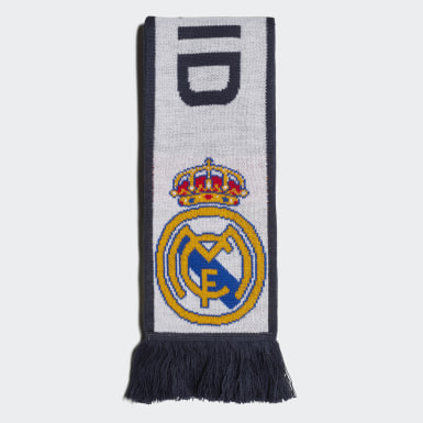 Football White Real Madrid Scarf
