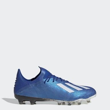 Fußball X 19.1 AG Fußballschuh Blau