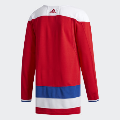 Maillot Capitals Alternatif Authentique multicolore Hommes Hockey
