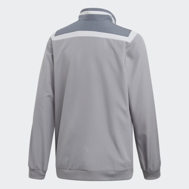 Kids Training Grey Tiro 19 Presentation Jacket