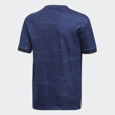 Camiseta segunda equipación Real Madrid Azul Niño Fútbol