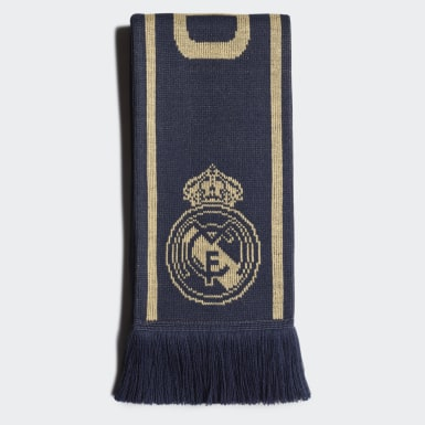 Football Blue Real Madrid Scarf