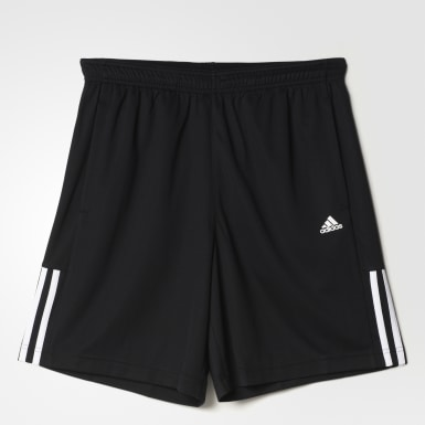 Shorts Base 3 bandas Negro Hombre Training