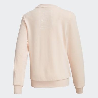Girls Sport Inspired Pink Disney Crewneck Sweatshirt