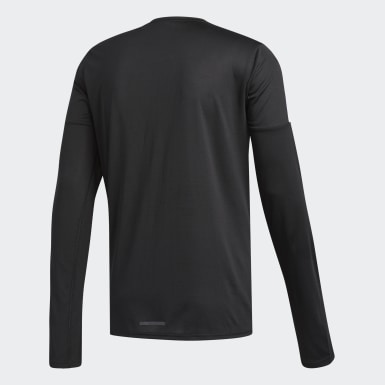 T-shirt Running 3-Stripes Noir Hommes Running