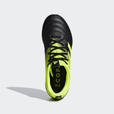Kids Football Black Copa 19.3 Turf Boots