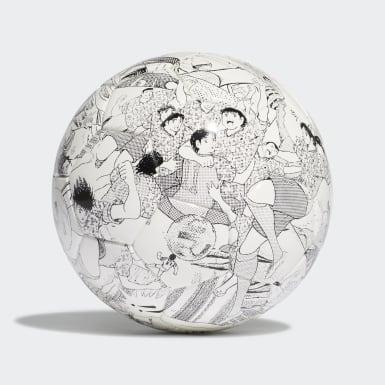 Fodbold Hvid Captain Tsubasa minibold