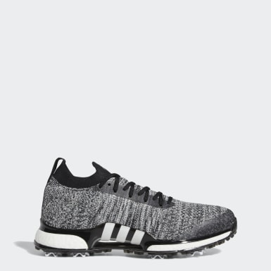 Men Golf Black Tour360 XT Primeknit Shoes