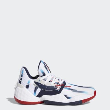 Men Basketball White Harden Vol. 4 Shoes