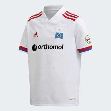 Camiseta primera equipación Hamburgo SV 20/21 Blanco Niño Fútbol