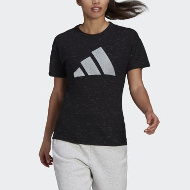 Women Athletics Black adidas Sportswear Winners 2.0 Tee