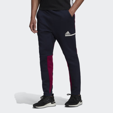 Men Athletics Blue adidas Z.N.E. Tracksuit Bottoms