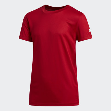 Youth Training Red CLIMA TECH TEE