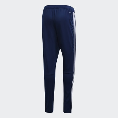 Men Training Blue Tiro 19 Training Tracksuit Bottoms