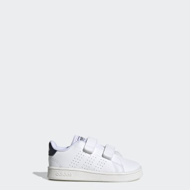 Kids Lifestyle White Advantage Shoes