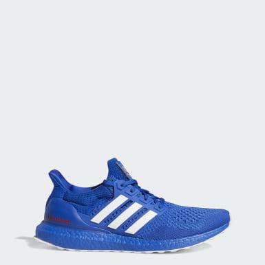 Running Blue Jayhawks Ultraboost 1.0 DNA Shoes