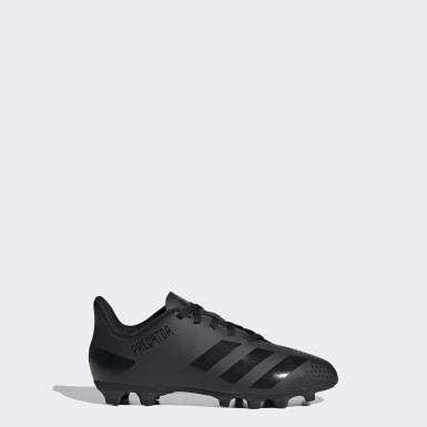 เด็กผู้ชาย ฟุตบอล สีดำ รองเท้าฟุตบอล Predator 20.4 Flexible Ground