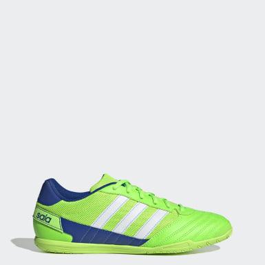 зеленый Футбольные бутсы (футзалки) Super Sala