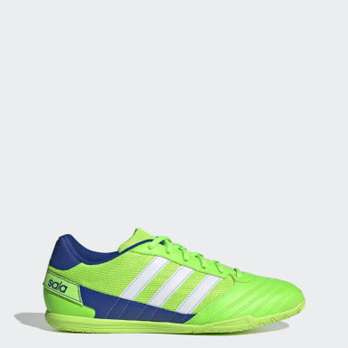 Football Green Super Sala Boots